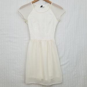 H&M Lined Cap Sleeve Dress, EUC